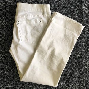 White House/ Black Market Crop Jeans